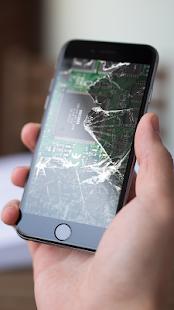 Broken Screen Prank - Cracked Screen Pranks App