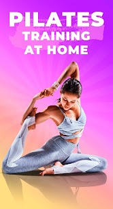 Pilates workout routine-Fitness exercises at home 2.5.0 Apk 1