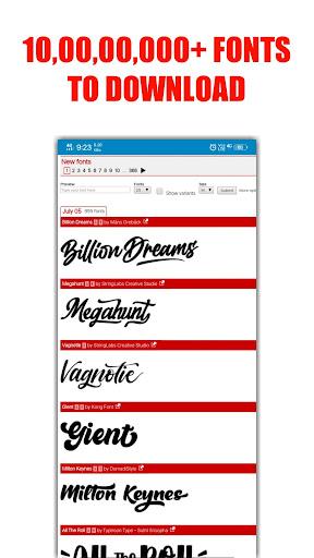 DA FONTS | Get Free Fonts apktram screenshots 2