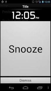 Alarm Clock Plus Screenshot