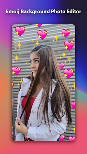 Emoji Background Photo Editor 1.0.0 Screenshots 5