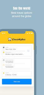 CheckMyBus: Compare and find cheap bus tickets 2.0.18 Mod + APK + Data [UPDATED] 1