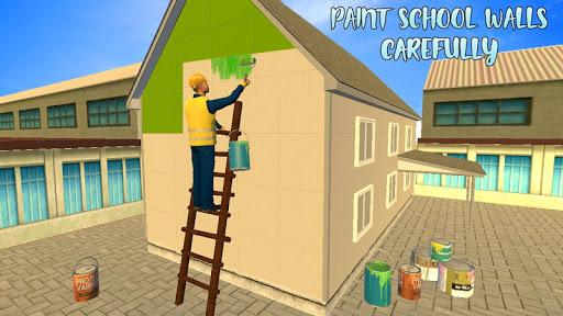 High School Building Design - Construction Games apkdebit screenshots 4