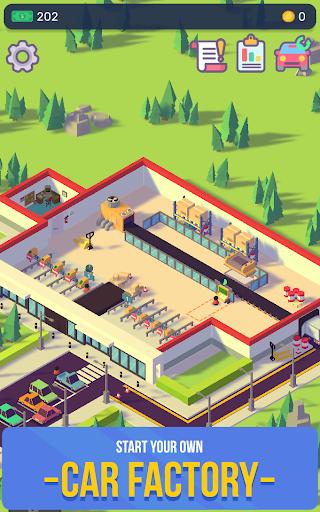 Télécharger Gratuit Car Industry Tycoon - Idle Car Factory Simulator apk mod screenshots 1