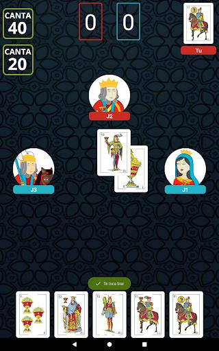 Cuatrola Spanish Solitaire - Cards Game  screenshots 9
