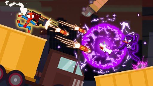 Spider Stickman Fighting 2 - Supeme Dual 1.0.4 screenshots 2