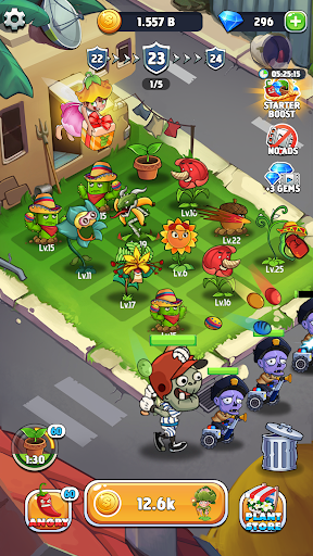 Merge Plants: Zombie Defense 1.2.8 screenshots 6