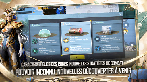 Code Triche PUBG MOBILE - POUVOIR RUNIQUE (Astuce) APK MOD screenshots 5