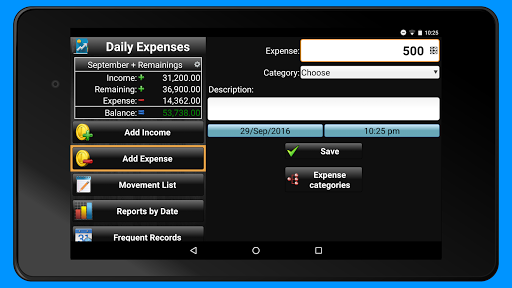 Daily Expenses 2: Personal finance android2mod screenshots 9