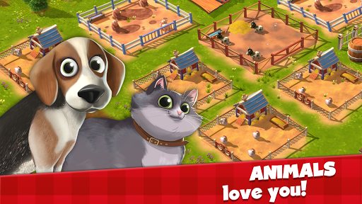 Happy Town Farm Games - Farming & City Building 1.4.0 Screenshots 5