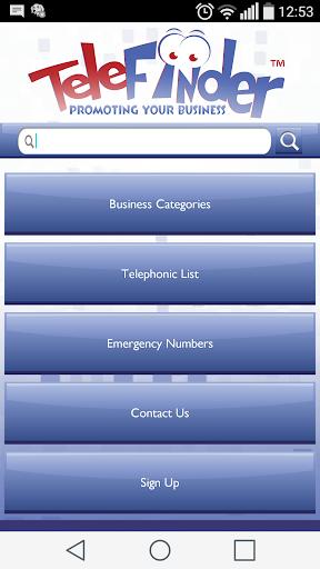 TeleFinder Bronkhorstspruit 3.2.0 screenshots 1