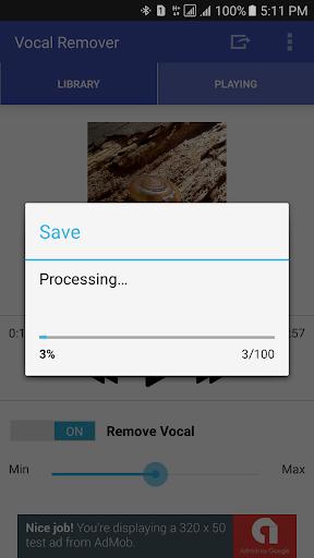 Vocal Remover for Karaoke 1.3.2 Screenshots 4
