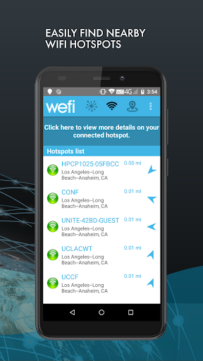 Find Wi-Fi - Automatically Connect to Free Wi-Fi 7.3.1.35 Screenshots 3