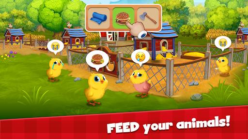 Happy Town Farm Games - Farming & City Building  screenshots 2