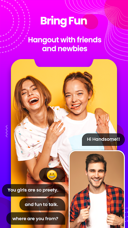 Sweet Date - Random Chat, Meet-Me Live Chat Tickoo  poster 3