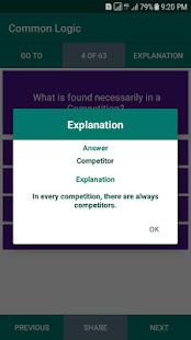 Verbal Logical Reasoning Intelligence MCQs Offline