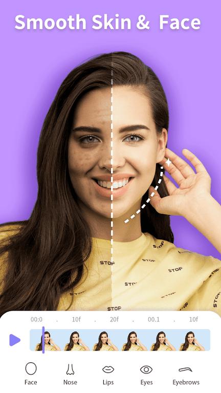 PrettyUp- Video Face & Body Editor & Selfie Camera  poster 4