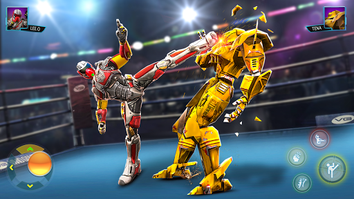 Real Superhero Kung Fu Fight - UFC Fighting Games  screenshots 1