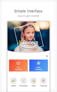 V Camera-Beauty Camera Premium Apk Music Video, PIP 1
