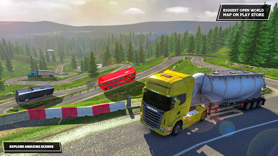Silk Road Truck Simulator : Offroad Cargo Truck Mod 2.3.5 Apk [Unlimited Money] 4