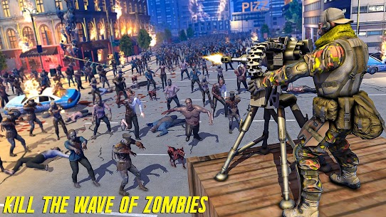 Zombie Army Dead War Shooting MOD APK (GOD MODE) 2