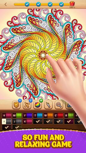 Cross Stitch Coloring Mandala 0.0.236 screenshots 8