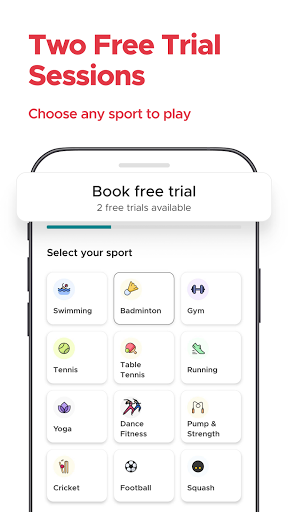 Fitso by Zomato: Badminton, Swimming, Tennis, Gym android2mod screenshots 1