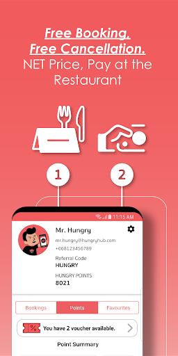 Hungry Hub - Thailand Dining Offer App 5.3.6 screenshots 5