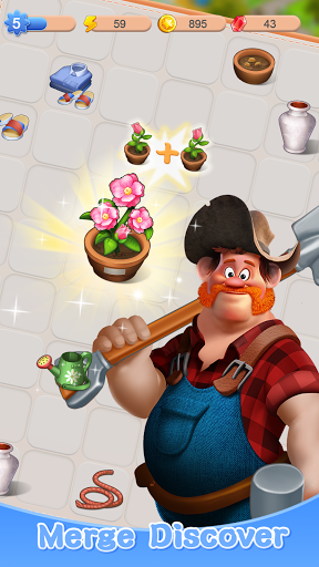 Merge Town : Design Farm  screenshots 8
