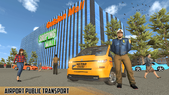 Modern Taxi Driving Game  City Airport Taxi Games Apk 5