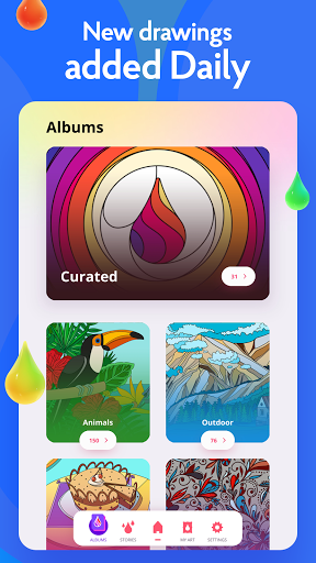 Painting games: Adult Coloring Books, Drawings 2.1.0 screenshots 13