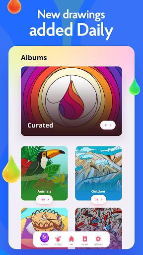 Painting games: Adult Coloring Books, Drawings apkdebit screenshots 13