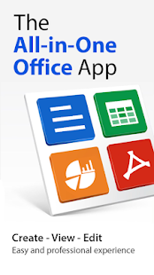 Word Office - Docx, Excel, Slide, Office Document Screenshot