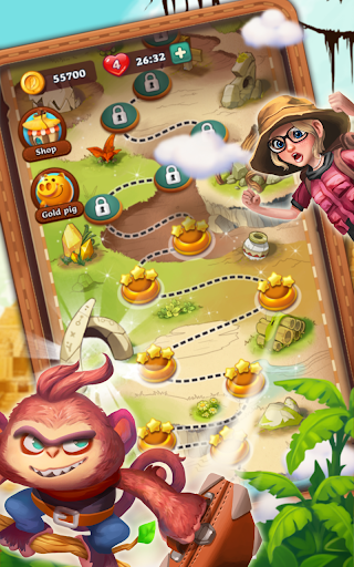 Bubble Journey -  Bubble shooter & Adventure story android2mod screenshots 13