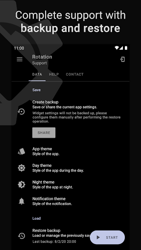 Rotation | Orientation Manager apktram screenshots 8