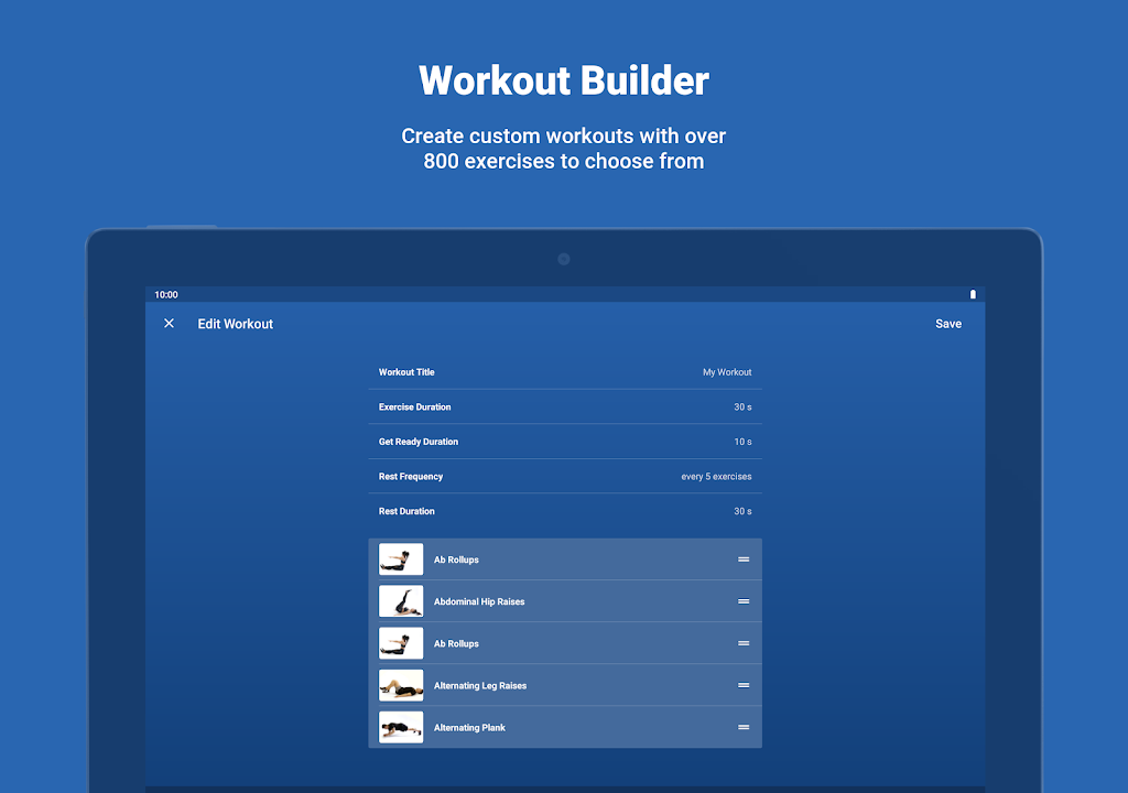 Fitify: Workout Routines & Training Plans  poster 11