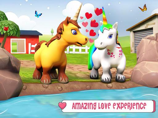 Baby Unicorn Wild Life: Pony Horse Simulator Games 1.2.5 screenshots 9