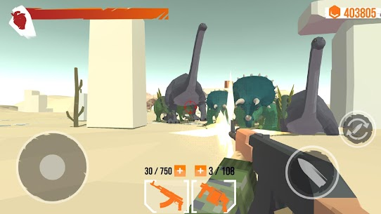 Dino Gun 3D: jurassic survival shooter Game Hack Android and iOS 3