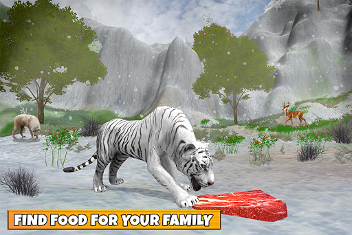 Snow Tiger Family apkmr screenshots 1