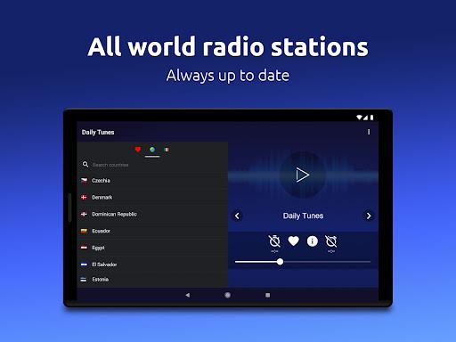 Daily Tunes - World Internet Radios & Live Streams Apkfinish screenshots 10
