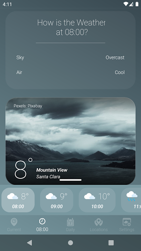 How is the Weather - Different, Simple & No Ads v17_24.01 Screenshots 2
