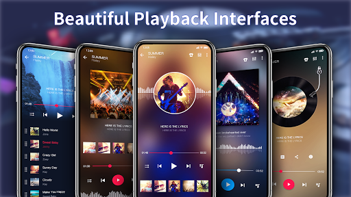 Music Player - Colorful Themes & Equalizer screenshots 1
