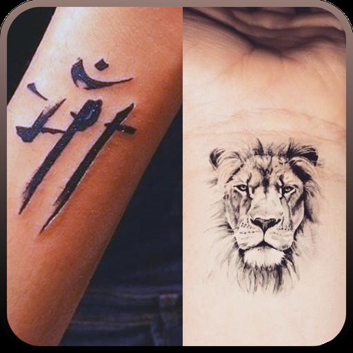 Tatuagem na minha foto para meninos e meninas