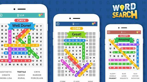 Word Search 1.4.10 screenshots 24