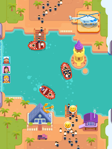 Idle Ferry Tycoon - Clicker Fun Game android2mod screenshots 6