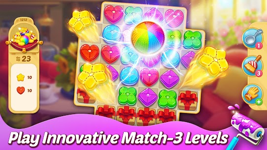 Matchington Mansion APK (MOD, Unlimited Coins) for Android 5