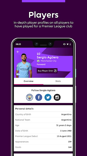 Premier League - Official App 2.4.2.2166 Screenshots 6