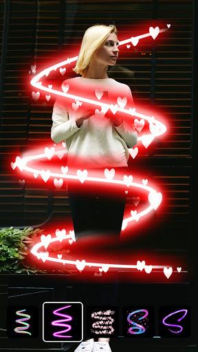 Instasquare Photo Editor: Drip Art, Neon Line Art  screenshots 5