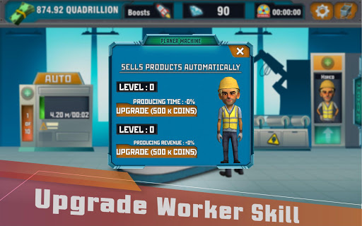 Factory Tycoon : Idle Clicker Game  screenshots 12