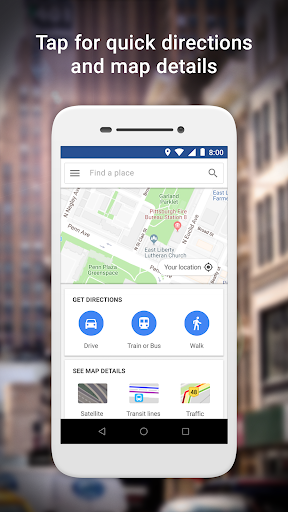 Google Maps Go - Directions, Traffic & Transit  screenshots 1